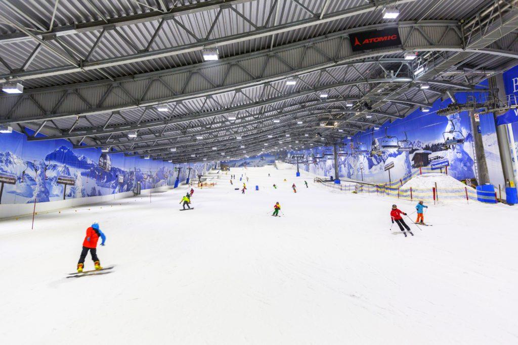 Schneedecke Skihalle Neuss
