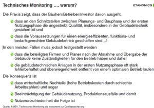 Warum Monitoring