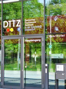 DTTZ-Haupteingang