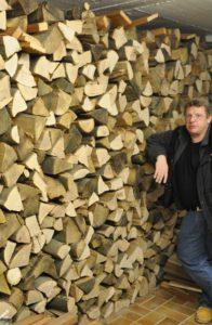 Biomasse Hartholz