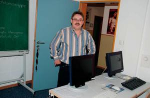 Computer-Arbeitsplatz Schulungsraum