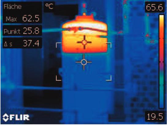 Thermografieaufnahme-Speicher
