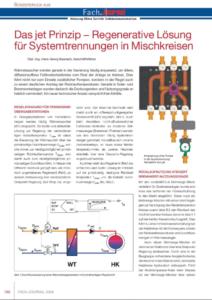 Das jet Prinzip − Regenerative Lösung für Systemtrennungen in Mischkreisen